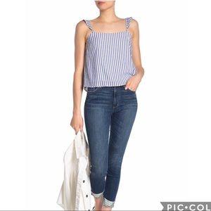Joe's Jeans | High Waisted Crop Skinny Jeans